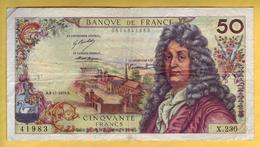 BILLET FRANCAIS - 50 Francs Racine 8-11-1973 TTB - 1962-1997 ''Francs''