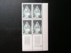 1392A  TOUR DE CESAR  PROVINS  Du  4/12/64  NEUF**  TBE - Coins Datés
