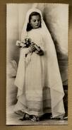 Image Pieuse Holy Card Communion D. Lévêque Eglise De Paimpont 14-05-1950 - Ed ?? - Photo Véritable - Imágenes Religiosas