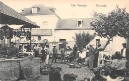 COLONIES PORTUGAISES / Cap Vert - Mercado - Beau Cliché Animé - Cap Vert