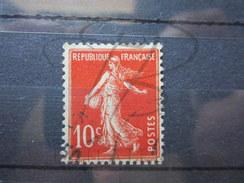 VEND BEAU TIMBRE DE FRANCE N° 138d , TYPE IC !!!! - 1903-60 Semeuse Lignée