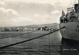 MILAZZO (ME) IL PORTO 1957 - Messina