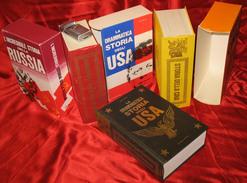 B 317A/233 VOLUMI N.3 STORIA LE GRANDI NAZIONI DELLA TERRA DALLA NASCITA AD I TEMPI CONTEMPORANEI DI U.S.A CINA RUSSIA - Enciclopedie