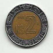1995 - Messico 2 Nuevo Pesos, - Messico
