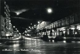 MODICA - CORSO UMBERTO - NOTTURNO 1960 - Modica