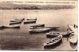 FR-64: HENDAYE: La Bidassoa à Marée Haute - Vue Sur Fontarabie Et Le Jaïzquibel - Hendaye