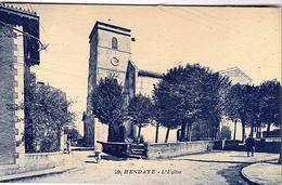 FR-64: HENDAYE: L'Eglise - Hendaye