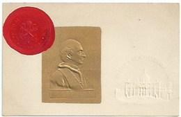Personnages Historiques - Pape Léon XIII Avec Cachet Du Vatican - Personnages Historiques