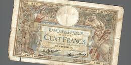 BILLET DE CENT FRANCS - 1871-1952 Anciens Francs Circulés Au XXème
