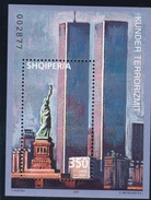 2002, Albanien,  2893 Block 142, Terror: World Trade Center. MNH ** - Albanie