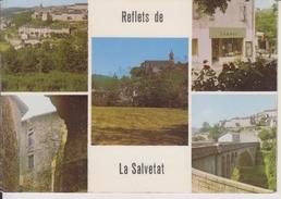 D34 - LA SALVETAT SUR AGOUT - STATION ESTIVALE SITUEE EN AMONT DU LAC DE LA RAVIEGE - MULTIVUES - CPSM Grand Format - La Salvetat