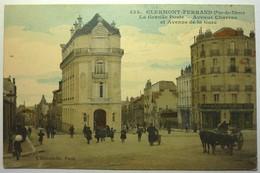 LA GRANDE POSTE - AVENUE CHARRAS ET AVENUE DE LA GARE - CLERMONT FERRAND - Clermont Ferrand