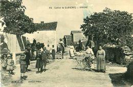 Cpa Canton De SURGERES  - VANDRE 17 - Animée - Surgères
