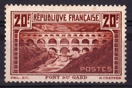 France - Pont Du Gard - N° 262A (Type I) - Neuf GNO - Départ 1 Euro