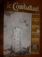 1955 LE COMBATTANT D'INDOCHINE: Hanoï;  SIHANOUK Le Roi Du Cambodge;Affaire Des Fuites;Les Infirmières Parachutistes;etc - French