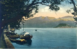 Lago Di Como  Riva Di Cadenabbia Presso Villa Carlotta  Cpa - Como
