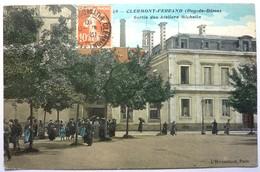 SORTIE DES ATELIERS MICHELIN - CLERMONT FERRAND - Clermont Ferrand