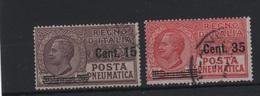 1927 Posta Pneumatica Serie Cpl US +++ - 1900-44 Vittorio Emanuele III