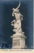 Firenze  Loggia Dei Lanzi  Ratto Delle Sabine Cpa - Firenze