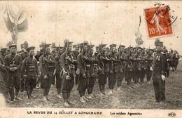 LA REVUE DU 14 JUILLET A LONGCHAMP  LES SOLDATS ANNAMITES - Paris (16)