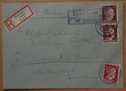 Reich R.Hechingen1 Land Nach Stuttgart Gebürbezahlt  Siehe Beschreibung. - Covers