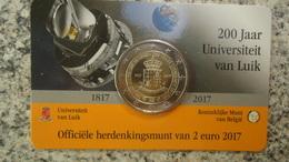 2 Euro Belgique 2017 - Belgique