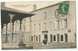Saint-Jean D'Angély (17-Charente Maritime) La Poste Et La Société Générale - Saint-Jean-d'Angely
