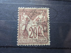 VEND BEAU TIMBRE DE FRANCE N° 67 !!!! - 1876-1878 Sage (Type I)