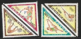 1984 Panama Olympics Triangles Complete  Set Of 4 MNH - Panama