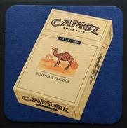 POSAVASOS TABACO CAMEL. - Objetos Para Fumadores