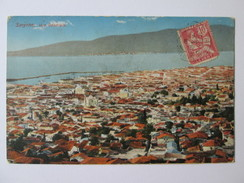 Smyrna/Smyrne-Levant Stamp,used Postcard Around 1913 - Turquie