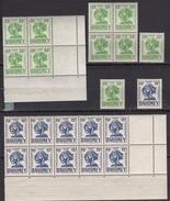 Dahomey 1941 -Timbres Taxe N°29** à N°31** - Lot De 68 Timbres En Blocs - TTB/Luxe - Ungebraucht