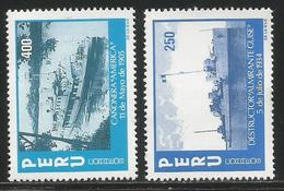1984 Peru Navy Ships Complete  Set Of 2 MNH - Peru