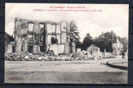 54-Luneville, Rue Carnot, Maison Leclerc Après L'incendie De 1914 - Luneville