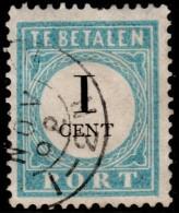 ~~~ Netherlands Nederland 1881  -  NVPH P3D  Type I (o) ~~~ - Portomarken