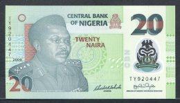 438-Nigeria Billet De 20 Naira 2009 TY920 Neuf - Nigeria