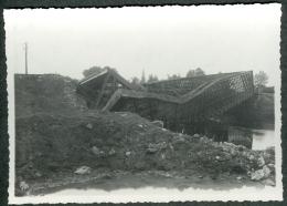 41 - Loir-et-Cher - Photo Boursay Destruction Bombardement Pont Du Chemin De Fer 1944 à Identifier - Francia