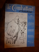 1955 LE COMBATTANT D'INDOCHINE: J'étais Prisonnier Du Vietminh ;Affaire Des Fuites Et Dien Bien Phu ; Etc - Magazines & Papers