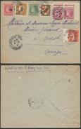 A648 France Lettre De La Mothe St Heraye à Oust 1947 - 1945-47 Ceres De Mazelin