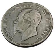 10 Centesimi - Italie - 1867 - 9,38 Gr. - TB - - 1861-1946 : Kingdom