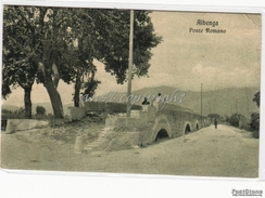 Albenga_Savona_Ponte Romano_Vg Il 24/4/1916 X Torino-Originale Antica- - Savona