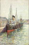 CPA RAPHAEL TUCK (n°6230) Illustrée Par E. GABRIEL - S.S. MAJESTIC (White Star Line). - Paquebots