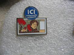 Pin's Ancien Billet De 100 Francs ICI - Banques