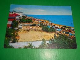Cartolina Jesolo Lido - La Spiaggia 1962 - Venezia