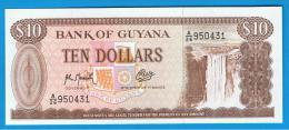 GUYANA - 10  Dolar ND  SC   P-23  Serie A26 - Guyana