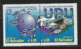 1999 El Salvador UPU  Complete Set Of 2 MNH - El Salvador