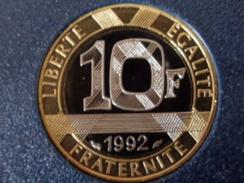 FDC 10 FRANCS B.E. 1992 - K. 10 Francs