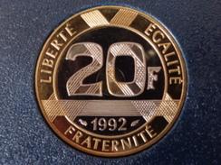 FDC 20 FRANCS B.E. 1992 - France