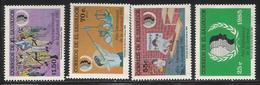 1985 El Salvador Youth Year Complete Set Of 4 MNH - El Salvador