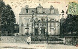 Neuilly Plaisance La Mairie Circulee En 1907 - Neuilly Plaisance